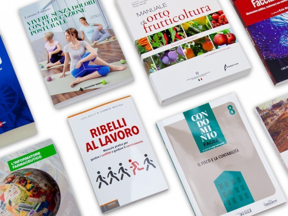 Libri narrativa e manuali